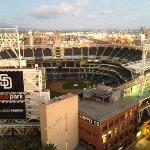 View of Petco Park from the roof