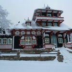  Pustevny - winter - Jurkovic architecture
