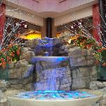 Fountain in Lobby of Hotel
