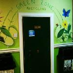 the green zone at the hostel