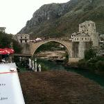 The Mostar most (bridge)