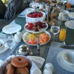 Breakfast spread - YUM :-)