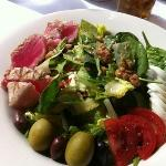 Seared Ahi Tuna Nicoise salad