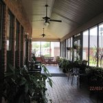 other end of Veranda