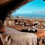 Luxury accommodation in Amboseli National Park