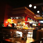 Sushi bar at Red Parrot