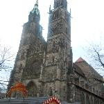 Lorenz Church in front of the hotel