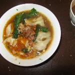 my wonton soup - I love this