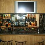 The Bar and seating area