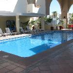 pool area/piscine
