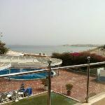  View from the balcony at Al Qurum Beach Resort