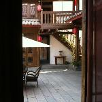  View from our window into the 2nd courtyard.