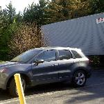 trailer and guest parking