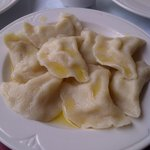 Steamed/Boiled Perogies in light butter