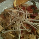 Indonesian Stir Fry with Rice Noodles and Tofu
