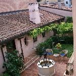 Courtyard at Dolcemela