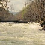 Wasser falls downriver of Nantahala Outdoor Center