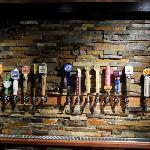  Beer Tap Handles at The Northern Pines Restaurant (dba: The Ponderosa Restaurant)