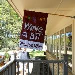 Banner at the Winery