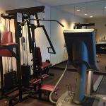 small basic fitness center...