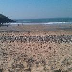 Manorbier beach - 5 mins walk from the hotel (2)