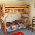  Western Suite Livingroom bunks