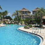 The pool at the Villages of Crystal Beach