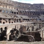 Colosseum, Palatine Hill, Roman Forum, and an Aperitif
