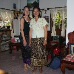 Me and the proprietress
