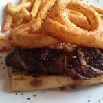 Open Faced Steak Sandwich - $16.00