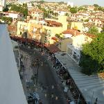 Melike Hotel - view from the top, to the street