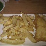 Fish and Chips with Mushy Peas - Kenny's - 21 February 2012
