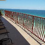  44 ft Gulf front balconies