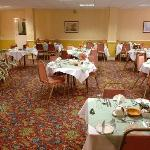 Full English breakfasts and four course meals