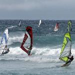 Kuau Inn - Windsurfing at Hookipa