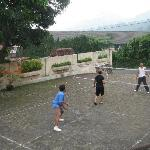 badminton game place