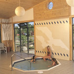 Giant whirlpool spa & sauna