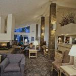 Enjoy the Aspen Lodge fire side lobby