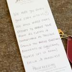 Note from the housekeeping staff!