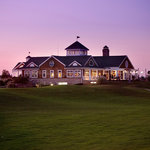 Clubhouse at dusk