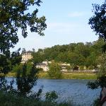  View across the Loire from campsite