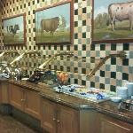 Breakfast Buffet - Plenty of Choices