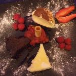 Claude's Trio of desserts, YUM!