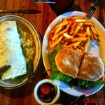 A Wet Burrito and a Torta