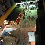 Nightlife from hotel- vida nocturna desde hotel