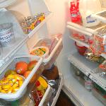 food in self serve fridge