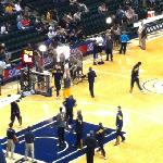  seats at the pacers game!