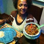 Genet's home cooking