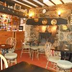  The cosy bar area