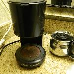  This is the coffe pot in our room